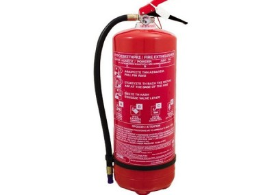 Πυροσβεστήρας ξηράς κόνεως 12kg