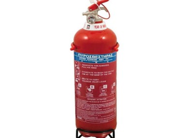 Πυροσβεστήρας ξηράς κόνεως 1kg
