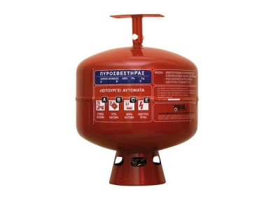 Dry Powder Automatic Roof Fire extinguisher, 12kg
