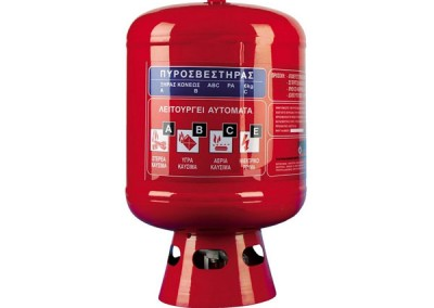 Dry Powder Automatic Roof Fire extinguisher, 6kg, ABC