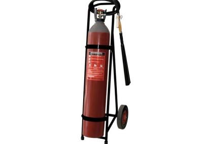 Τροχήλατος Πυροσβεστήρας CO2, 45kg