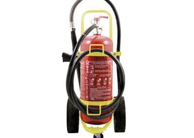 Τροχήλατος Πυροσβεστήρας Αφρού 100Lt
